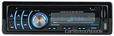 BOSS AUDIO BV6650 IN-DASH DVD/MP3/CD PLAYER FRONT USB/SD/AUX INPUTS STEREO RADIO
