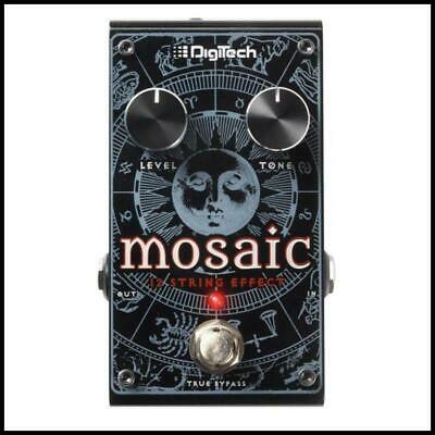 Digitech Mosaic Polyphonic 12-String Pitch Shift  Guitar Effects Pedal Inc adapt