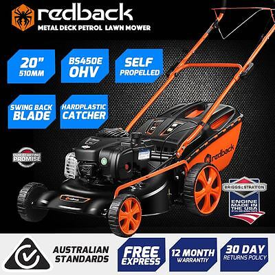 """WAS $529 New Self Propelled 20"""" B&S 450E Lawn Mower 4 blades,bagging,mulching"""