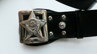 USSR Soviet Red Russian Army Military Officer Belt Buckles NEW #1