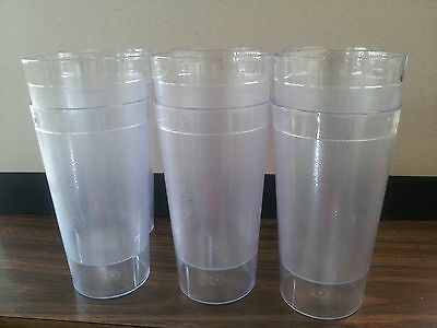 Restaurant/drink Clear Hard Plastic Tumblers ( One Dozen ) Bpa Free 20 Ounces