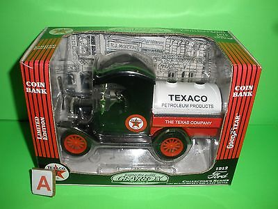 TEXACO GEARBOX 1912 FORD MODEL T TANKER TRUCK 1:24th Stock #76608 1998 A