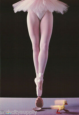 Poster:comical: Confidence - Ballet Dancer On Egg - Free Shipping #2295  Rp76 N