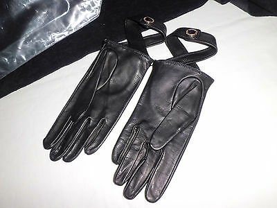 Versace Collection Leather  Gloves  Guanti Pelle