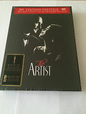 The Artist Edition Prestige Blu-Ray + Dvd + Cd Musique Film Neuf Sous Blister Vf