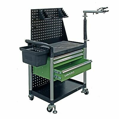 VENZO Bicycle Repair Tool Box with Workstand