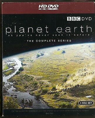 PLANET EARTH - Complete Series + 2 Natural World Docu's (5xHD DVD BOX SET 2007)