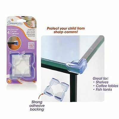 4 x Baby Child Safety Table Shelf Cupboard Corner Cushion Protective Covers