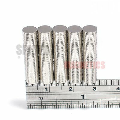 Magnets 6x0.5 mm Neodymium Disc small thin round craft magnet 6mm dia x 0.5mm