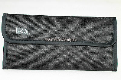 """Ostara soft filter wallet for telescopes. Holds 4 to 6 1.25"""" filters . Astronomy"""