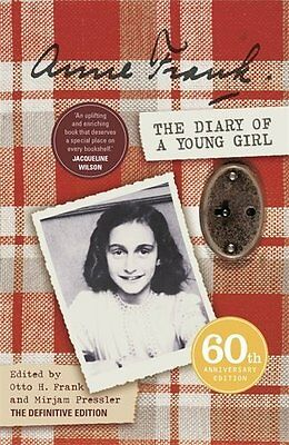 The Diary of a Young Girl: Definitive Edition by Anne Frank New Paperback Book