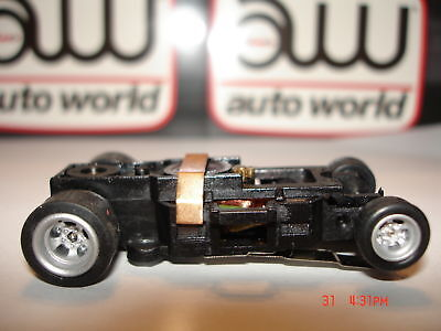 AUTO WORLD ~ NEW FOUR GEAR ULTRA G CHASSIS ~ ALSO FITS AFX, AW, JL