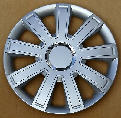 """Brand new silver 15"""" wheel trims to fit  Vw Caddy"""