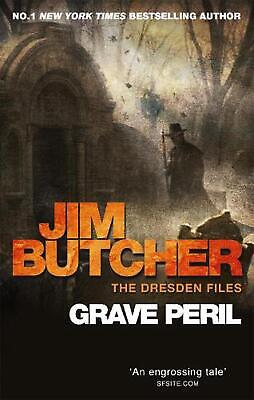 Grave Peril: The Dresden Files, Book Three by Jim Butcher (English) Paperback Bo