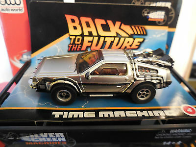 AUTO WORLD ~ TIME MACHINE  FROM BACK TO THE FUTURE ~ ALSO FITS AW, AFX, JL