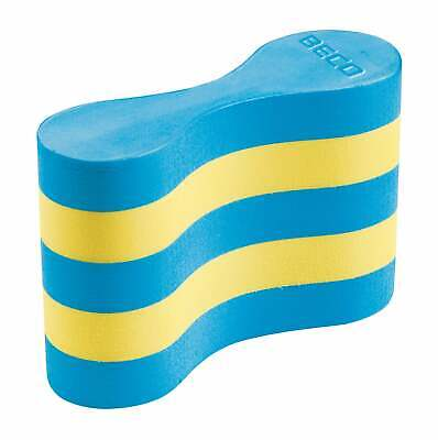 BECO Pull Buoy Large - Blue/Yellow - for Adult swimmers