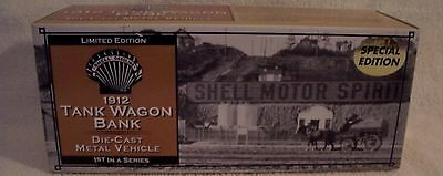 2003 Ertl Special Edition Shell 1912 TANK WAGON BANK 1ST IN SERIES