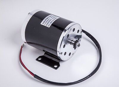 500W 24V DC electric brush ZY1020 motor w Base f escooter ebike kart DIY project
