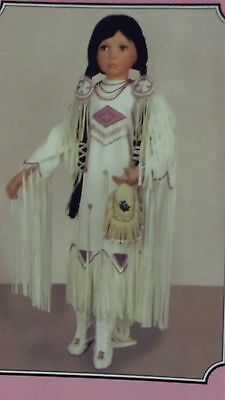 Paradise galleries Native American doll Shining Dawn by: Linda mason