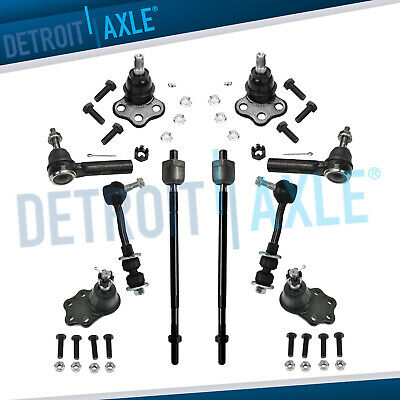Brand New 10pc Complete Front Suspension Kit- Dodge Durango Dakota 2WD
