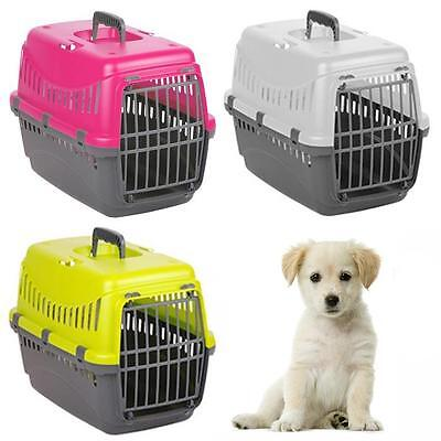 Portable Collapsible Pet Carrier Travel Kennel Inc Vent Slit, Handle, Seat Clamp