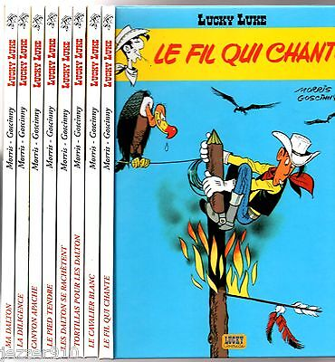 Lucky Luke ¤ Lot De 8 Mini Bd Cartonne ¤ Ma Dalton/le Pied Tendre... 2006