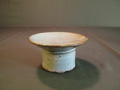Fine Korean Joseon Dynasty Porcelain Footed Plate Dish