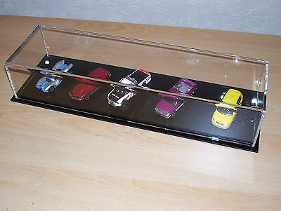 acrylic perspex dinky matchbox display case full uv protection hotwheels