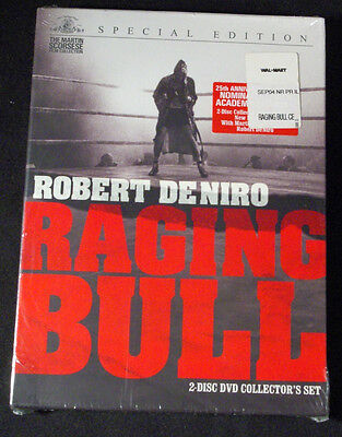 """""""RAGING BULL"""" Special Edition 2 Disc DVD Collector's SET Sealed NEW - DENIRO"""