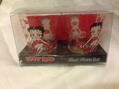 Betty Boop Red drinking Shot Glasses