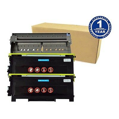 Drum DR350 + 2x Toner TN350 For Brother DCP-7020 HL-2040 HL-2070N MFC-7820N 2820