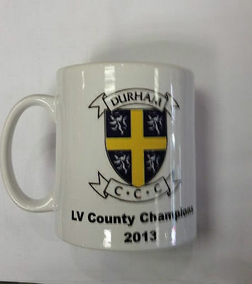 Durham CCC Official 2013 LV County Champions Mug