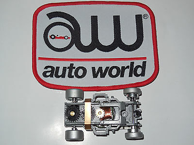 AUTO WORLD ~ 1 SILVER  XTRACTION CHASSIS  ~ALSO FITS AFX MAGNATRACTION, AW, JL