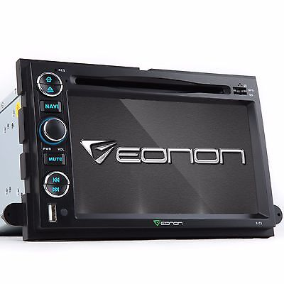 "7""I Car Stereo DVD Player GPS for Ford F150 Explorer Fusion 2006 2007 2008 2009"