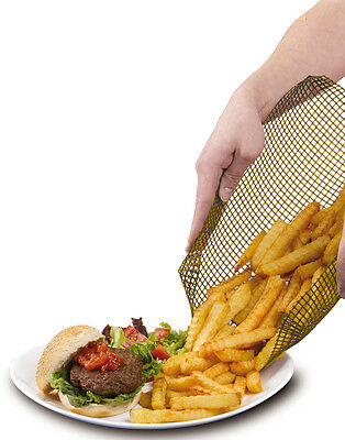 QUICKACHIPS TRAY FOR QUICK & CRISPY OVEN CHIPS - BROWN/NATURAL 30 x 30 CM