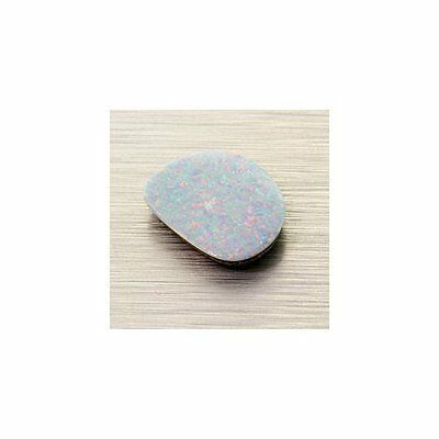 Australian Opal Doublet 14.5x11.5mm Freeform 3.43ct (One of a Kind Stone)