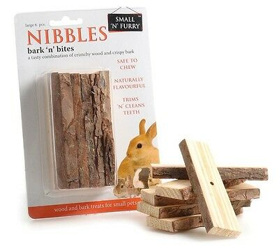 Small 'N' Furry Bark 'N' Nibble Small Animal Toy Rabbit Toy