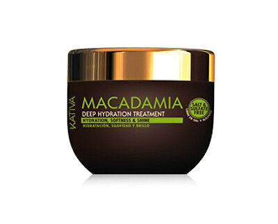 Kativa Macadamia Deep Hydration Treatment Mask 250 ml / 8.45 fl.oz
