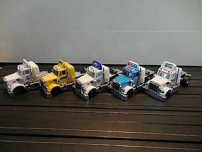 Auto World ~  5  PETERBILT CABS ~ Add Your Own Chassis ~ FITS AFX, AW, JL