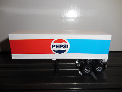 AUTO WORLD ~ RETRO Pepsi Racing Rig Trailer ~ ALSO FITS AFX, AW, JL
