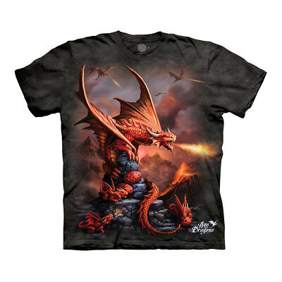 The Mountain Fire Dragon Adult Unisex T-Shirt