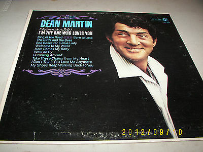Dean Martin (Remember Me) I'm The One Who Loves You LP EX Reprise R6170