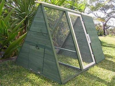 Chicken coop Somerzby Lodge Rabbit Hutch Guinea Pig cage run Chook Tractor Pen