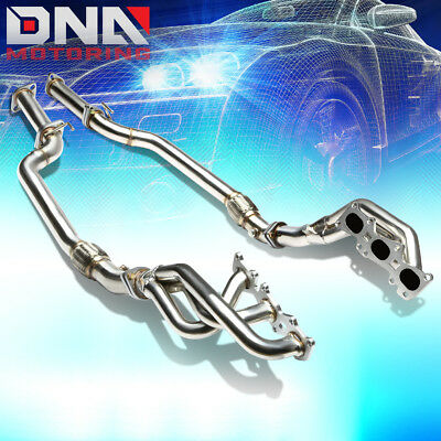 Stainless Steel Header+H-Pipe For 10-13 Coupe Bh 3.8L V6 G6Da Exhaust/manifold