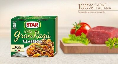 Gran Ragu Star Classico Gr.180   Kit Da  19X2       Totale 38 Lattine
