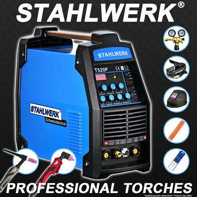 Full equipment set: Welder CT 520 PULSE and PLASMA S - DC TIG Inverter with MMA