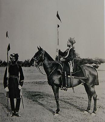 British Indian Army Bengal Fred Bremner Lancers 1897 Photo 6x5 Inch Reprint R