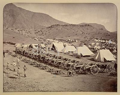 British Army Ali Masjid Khyber Pass Afghanistan 1878 Photo 6x5 Inch Reprint R
