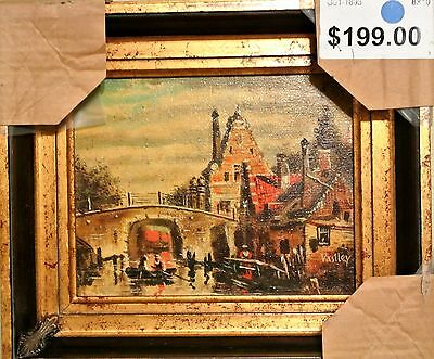 """""""Gondoliers""""-ORIGINAL Oil Painting on Canvas by Vasiley, Hand Signed+ Framed!"""