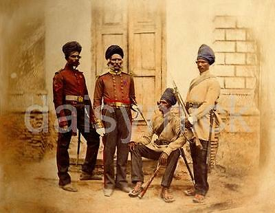 British Indian Army Madras Sappers Lucknow Miners 1857 Photo 6x5 Inch Reprint R
